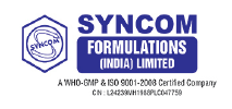 Syncom Formulations (India) Limited