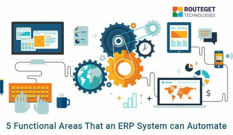 5 Functional Areas That an ERP System can Automate
