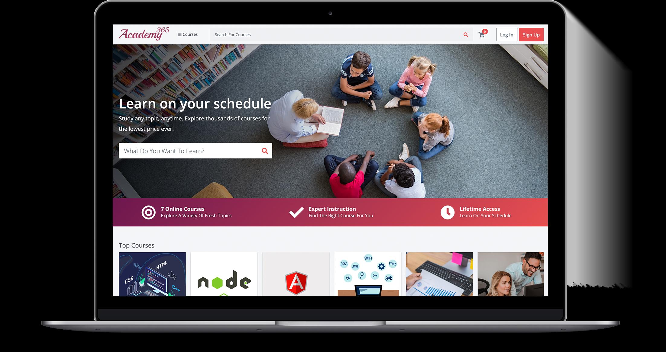 Academy 365 - Dashboard